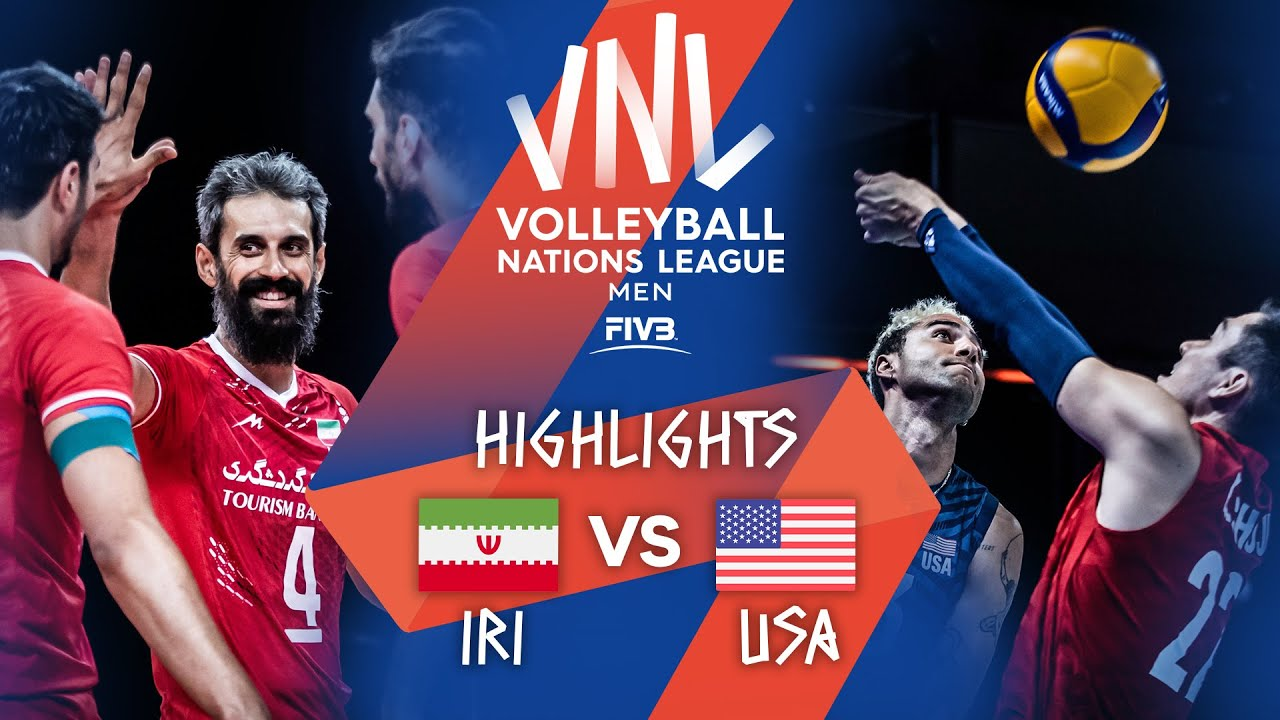Download IRI vs. USA - Highlights Week 3 | Men's VNL 2021