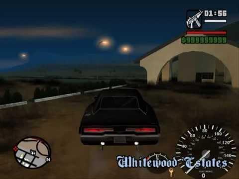 GTA SAN ANDREAS DRAG RACE wheelie car