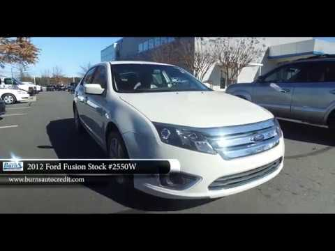 2012 Ford Fusion Stock 2550w Burns Buy Here Pay Here