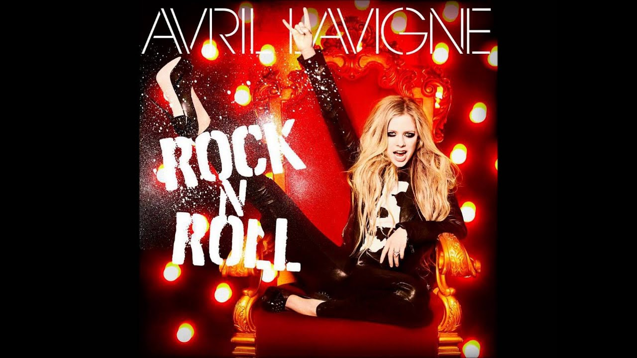 Picture of avril lavigne in music video: rock n roll avril.