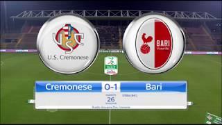 Video Gol Pertandingan Cremonese vs AS Bari
