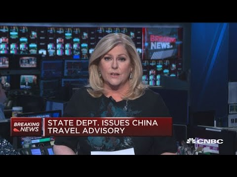 State Department issues China travel advisory