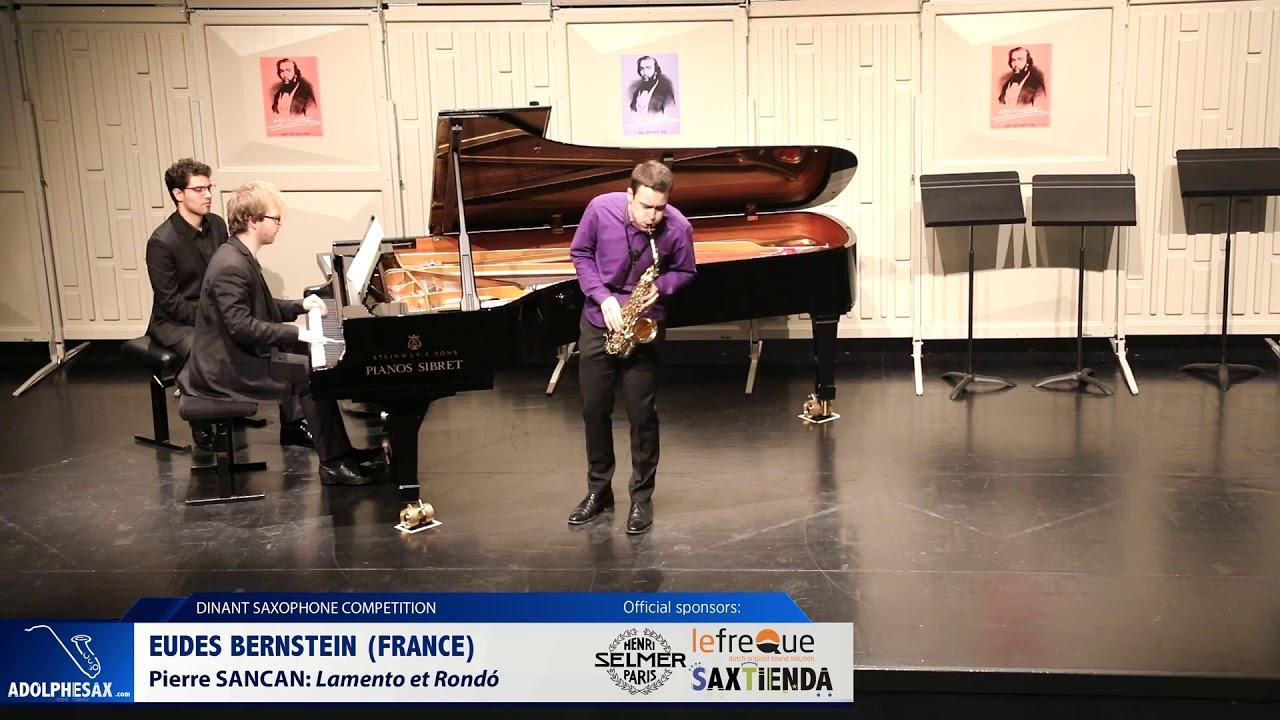 Eudes Bernstein France  Lamento et Rondó by Pierre Sancan