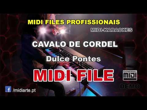 ♬ Midi file- CAVALO DE CORDEL - Dulce Pontes