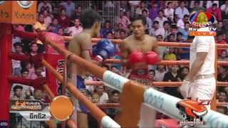 ចាន់ សុខៃ Vs ខន សុខឃៀង, Bayon TV Boxing, 18/May/2018 | Khmer Boxing Highlights