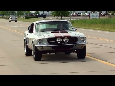 Test Driving 1967 Shelby GT500 Tribute 390 V8 Mustang Fastback - Fast Lane Classic Cars