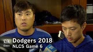 Dodgers NLCS 2018: Hyun-Jin Ryu on losing NLCS Game 6
