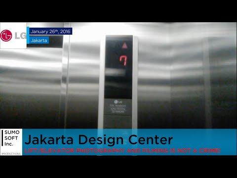 LG Lift at Jakarta Design Center (Retake 1)