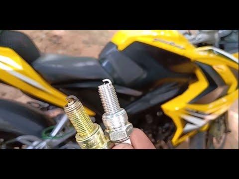 Installing Iridium Spark Plugs for pulsar RS 200
