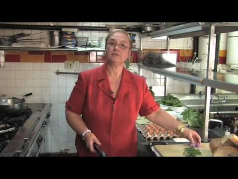 Lidia Bastianich prepares a $5 meal in 5 minutes