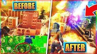 NEW FORTNITE SECRETS!! - Tilted Towers REMOVED & SECRET RAVEN SKIN! (NEW Fortnite Glitches