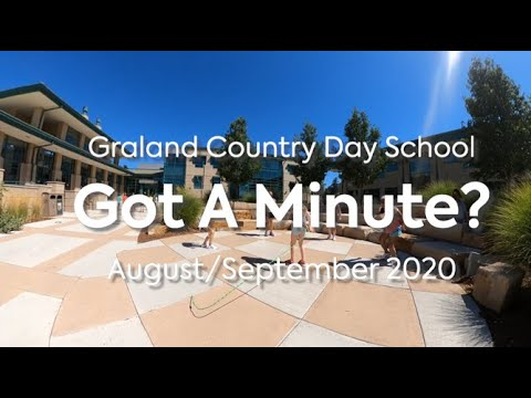 September 2020 Monthly Minute - Graland Country Day School