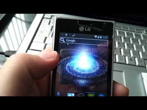 LG L3 E400 running CM9