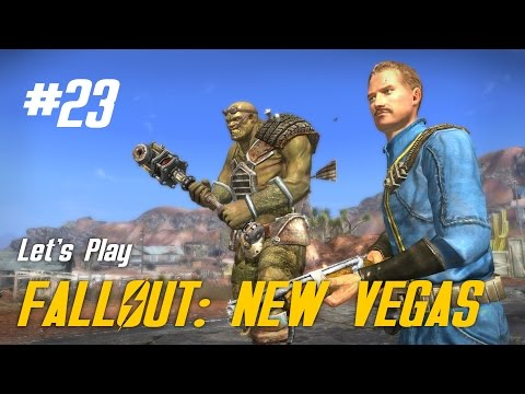 Let's Play Fallout: New Vegas - 23 - What does this button do?