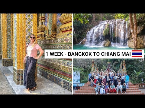 BANGKOK TO CHIANG MAI In One Week With STA Travel & Contiki! | Thailand Vlog
