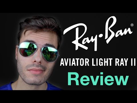 ray-ban-aviator-light-ray-ii-review