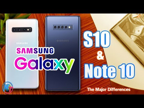 Samsung Galaxy Note 10 Between Galaxy S10 Changes Are Here!
