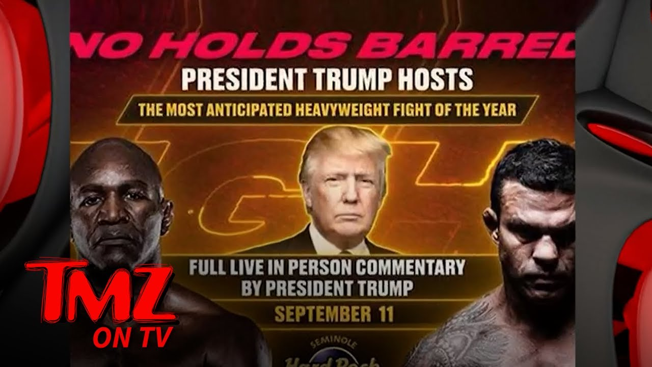 Why is Donald Trump announcing the Evander Holyfield vs. Vitor ...
