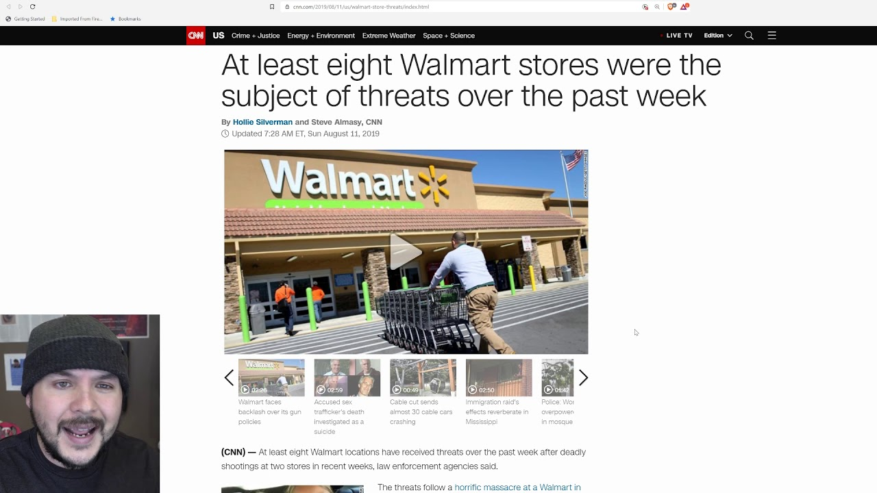 Around EIGHT Wal Marts Have Been Threatened This Week, Are People Going Insane?