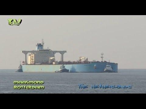 Maasgeul Rotterdam: Maersk Sonia Crude oil tanker