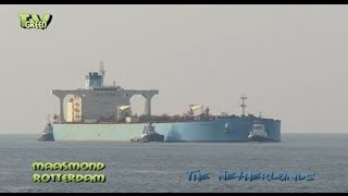 Port of Rotterdam: Maersk Sonia Crude oil tanker