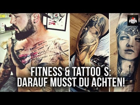 Fitness & Tattoo - Darauf musst du achten & realistic Tattoo by Florian Karg