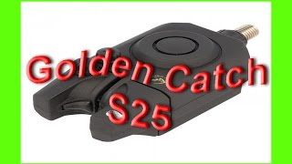 Обзор сигнализатора Golden Catch S 25