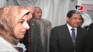 محافظ ووكيل صحة الغربية يزورون «رمد طنطا» بعد اصابة ٧ بالعمى