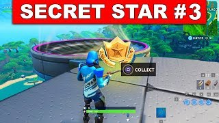Fortnite WEEK 3 SECRET BATTLE STAR LOCATION GUIDE! - Find the Secret Battle Star in Loading Screen 3