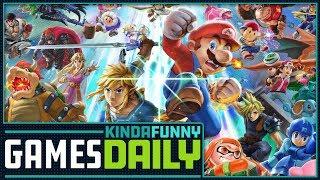 Super Smash Bros. Ultimate Recap - Kinda Funny Games Daily 08.08.18
