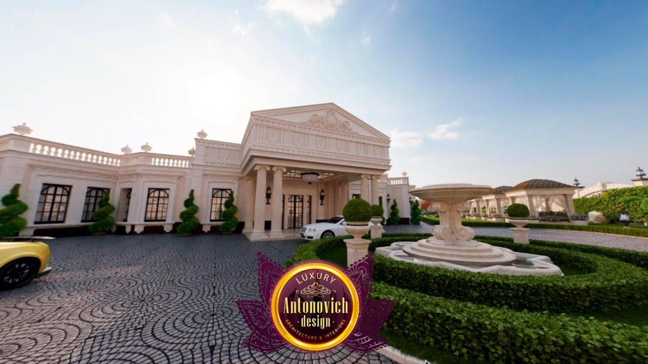 Best Villa Landscape Design in Dubai by Luxury Antonovich Design!