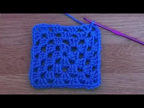 Basic Granny Square – Crochet Tutorial for Beginners