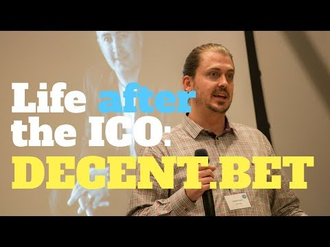 Life after the ICO: Decent bet | Jedidiah Taylor #CIS17