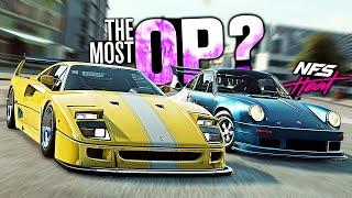 Need for Speed HEAT - OVERPOWERED Ferrari F40 vs Porsche 911 Carrera RSR