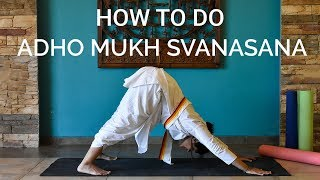 Adho Mukha Svanasana - Downward-facing Dog Pose