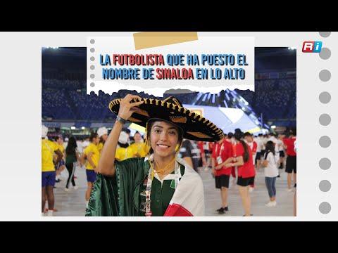 La futbolista que ha puesto el nombre de Sinaloa en lo alto
