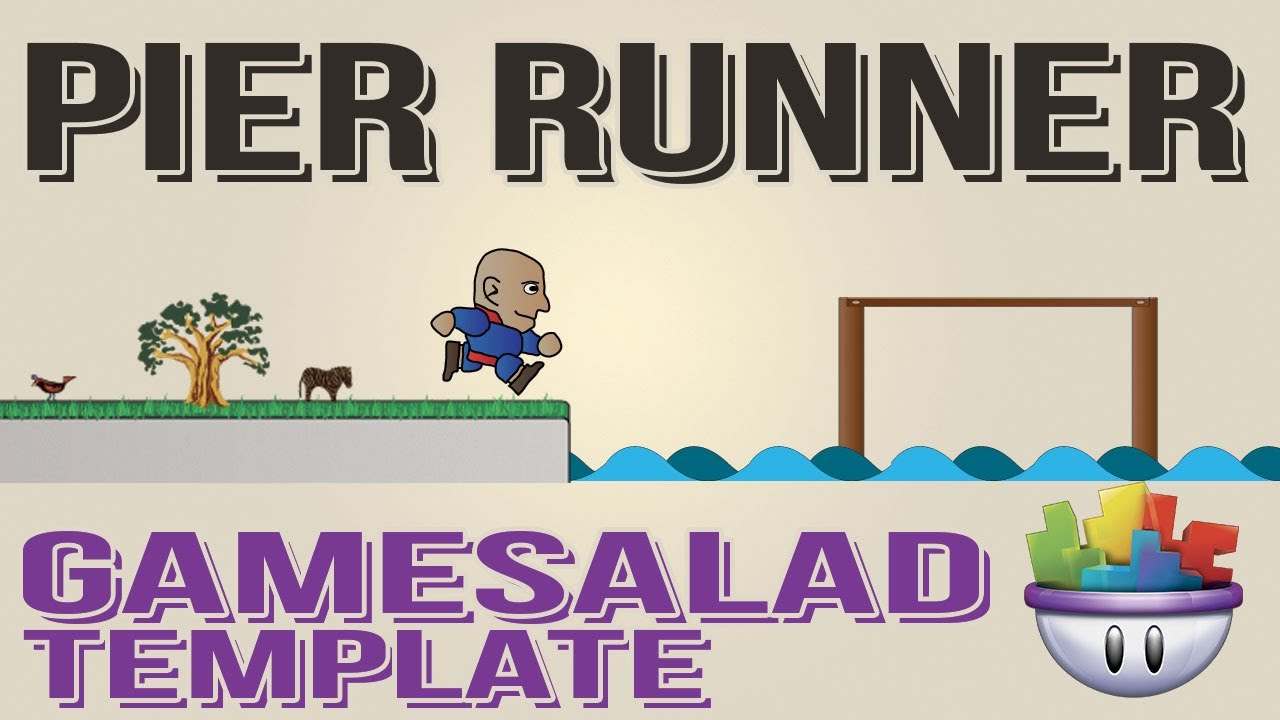 Gamesalad custom fonts - Gamesalad Pier Runner Template