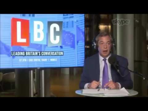 Nigel Farage Speech - EU Negotiations, Gibraltar and Brexit