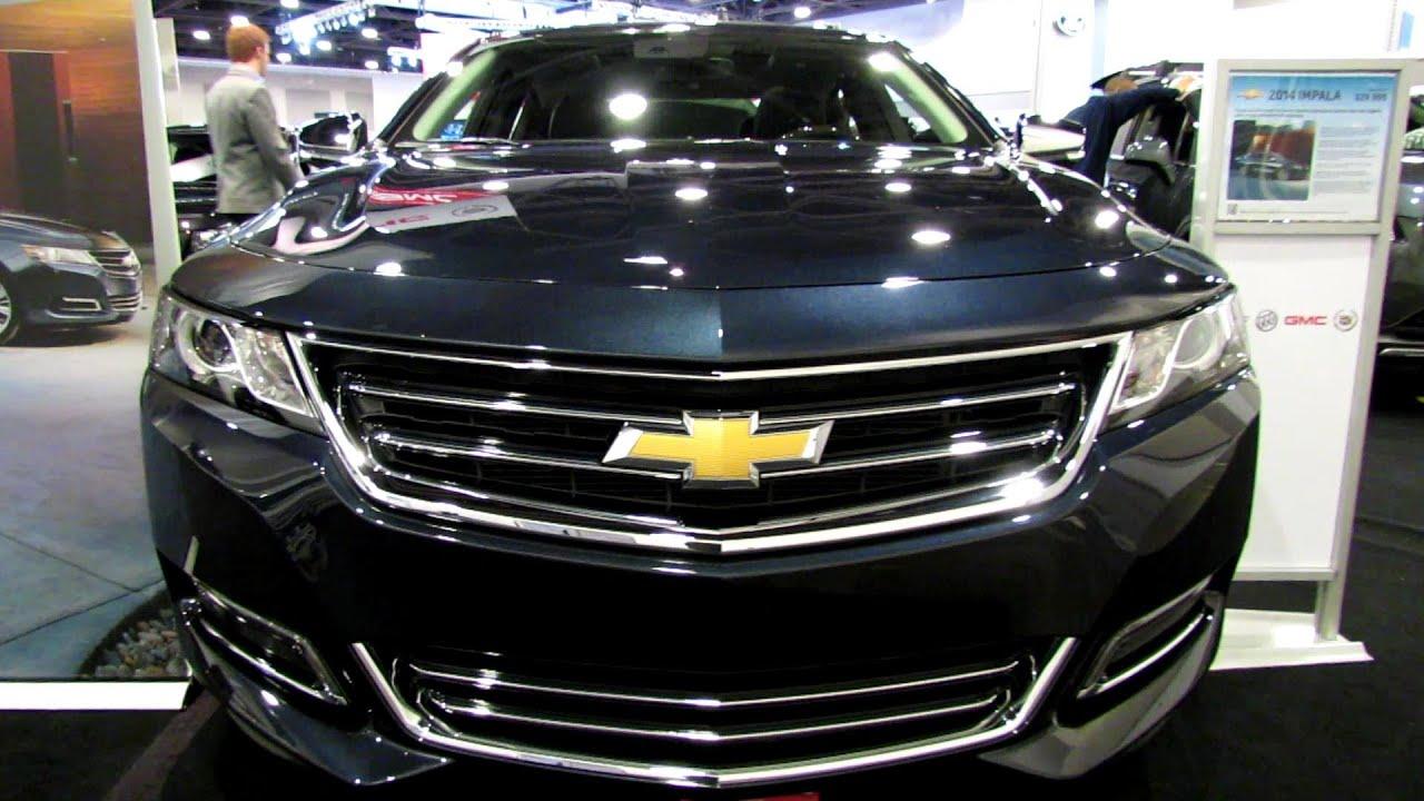 2013 Chevy Impala Ltz >> 2014 Chevrolet Impala LTZ - Exterior and Interior Walkaround - 2013 Ottawa Auto Show - YouTube