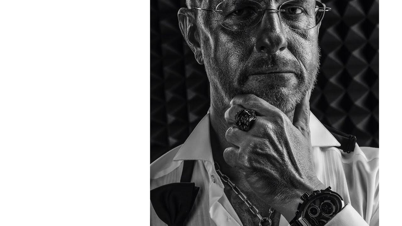 Черно-белый портрет. Урок 99. Фотошкола Олега Зотова.
