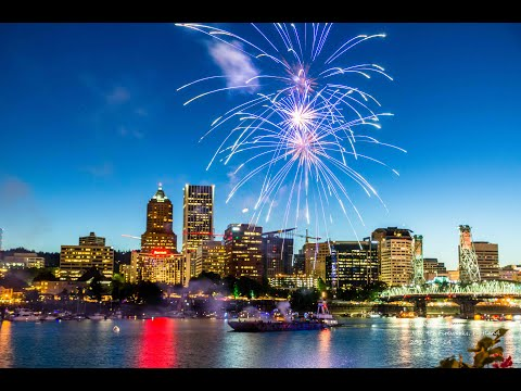 July 4th 2017 Kate Perry Fireworks Portland Oregon