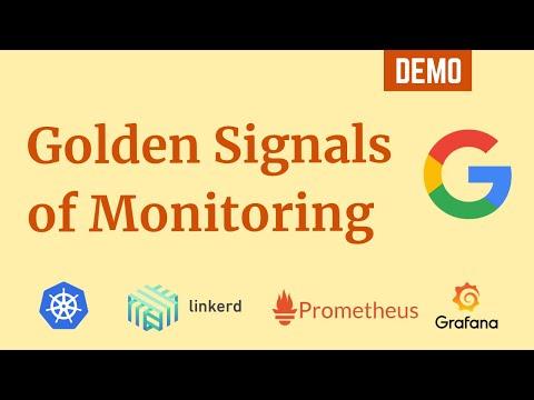 Golden Signals of Monitoring using Kubernetes, Linkerd, Prometheus and Grafana | DevOps Primer