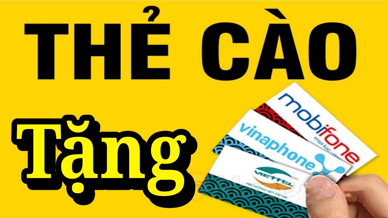 Tặng Card Điện Thoại Miễn Phí Viettel, Mobifone, Vinaphone, Momo