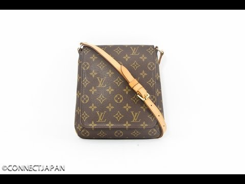 b7179aedb8c6 LOUIS VUITTON MUSETTE SALSA MONOGRAM SHOULDER BAG PURSE - YouTube
