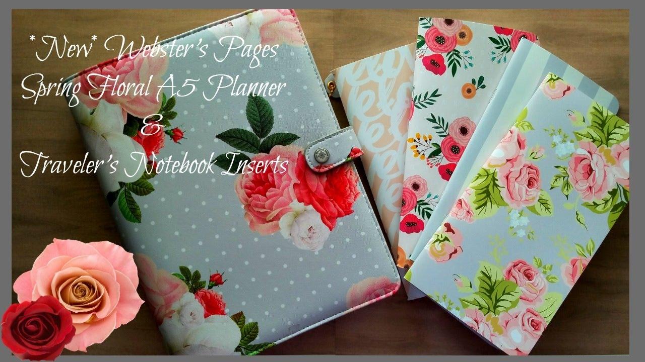 Webster S Pages Traveler S Notebook Floral
