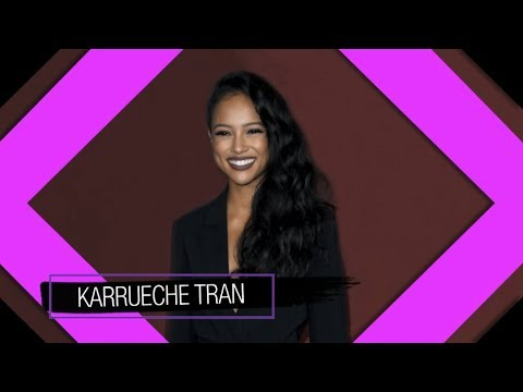 Tuesday on 'The Real': Karrueche Tran from 'Claws'