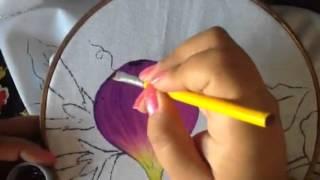 Pintura en tela higos # 1 con cony