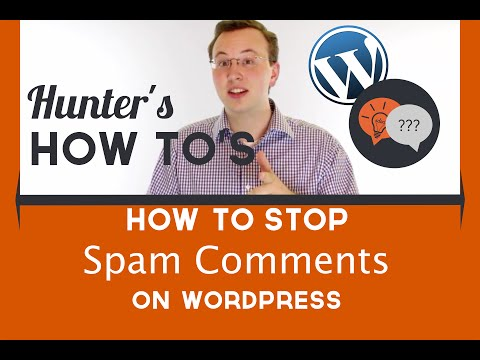 How to stop spam comments on WordPress sites and blogs (for free)