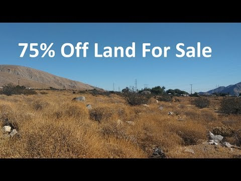 Riverside CA Buildable Land For Sale $5,500 - 1/4 Acre & Mobile Home approved