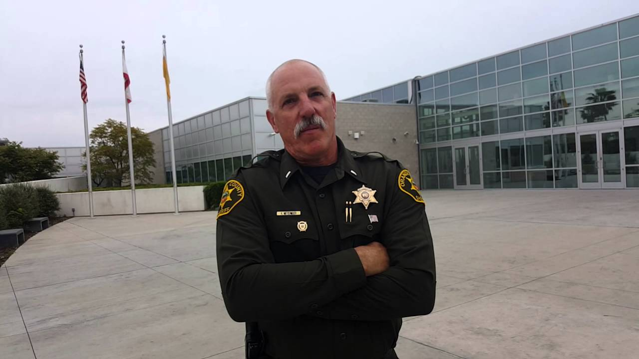 Orange County Sheriff's Department Academy - YouTube
